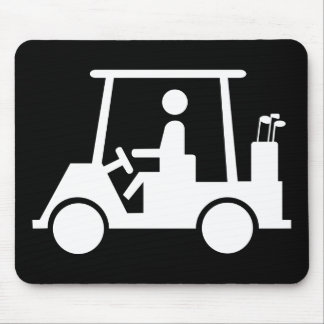 Golf Buggy Mouse Pad