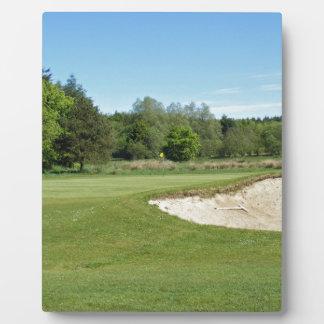 Golf Bunker Plaque
