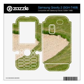 Golf Bunker Samsung Gravity 2 Skin