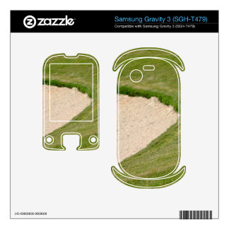 Golf Bunker Samsung Gravity 3 Skins
