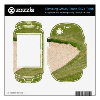 Golf Bunker Samsung Gravity Touch Skins