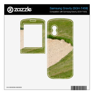 Golf Bunker Skins For Samsung Gravity