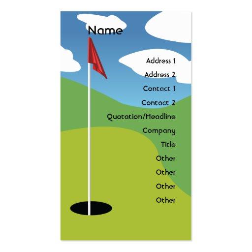 Golf - Business Business Card