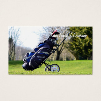 Golf Business Card 2