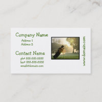 Golf Business Cards