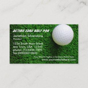 Golf pro business cards zazzle golf business cards colourmoves