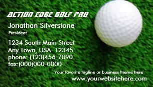 Golf pro business cards templates zazzle golf business cards colourmoves