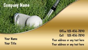 Golf teacher business cards zazzle golf business cards colourmoves