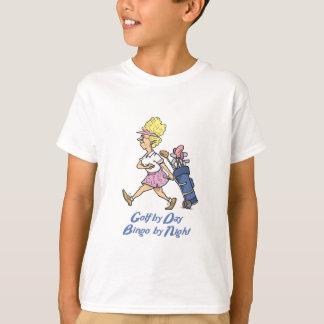golf by day bingo by night T-Shirt