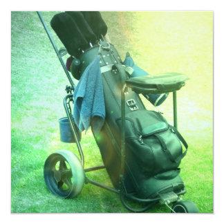 Golf Caddie Invitation