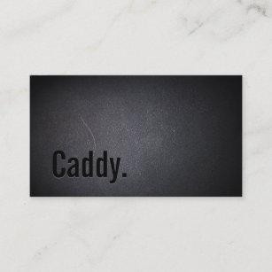 Golf caddy business cards zazzle golf caddy elegant black business card colourmoves