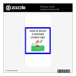golf calcomanías para el iPhone 4S