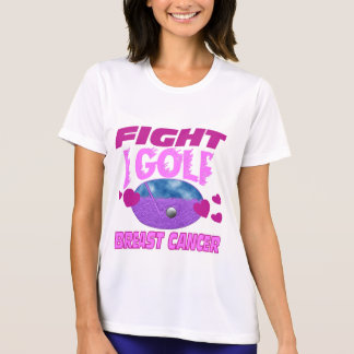 Golf > cáncer de pecho de la lucha camiseta