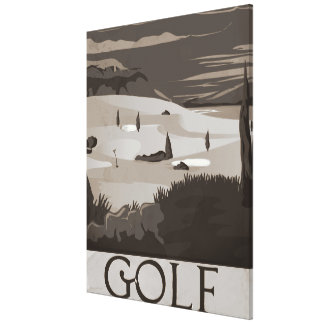 Golf Gallery Wrapped Canvas