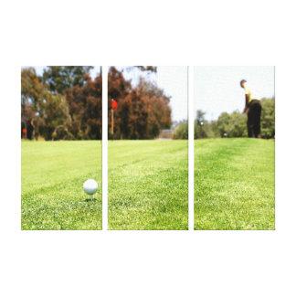 Golf Canvas Prints