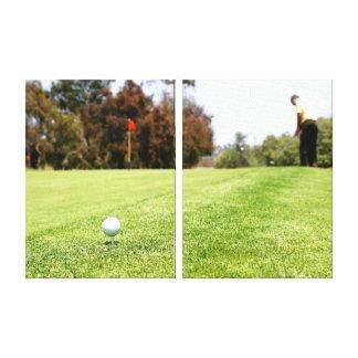 Golf Canvas Print