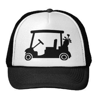Golf car trucker hat