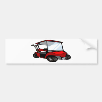 golf cart5 bumper sticker