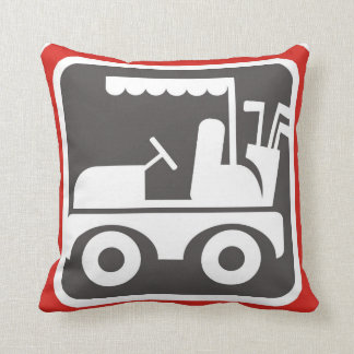 Golf Cart - American Mojo Pillow