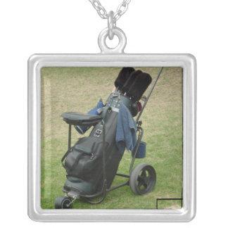Golf Cart Bag Necklace