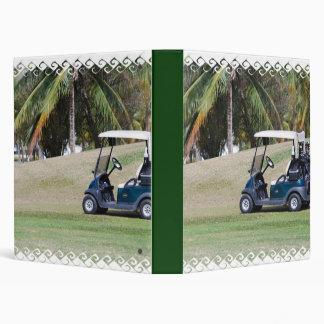 Golf Cart Binder