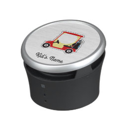 Golf cart bluetooth speaker