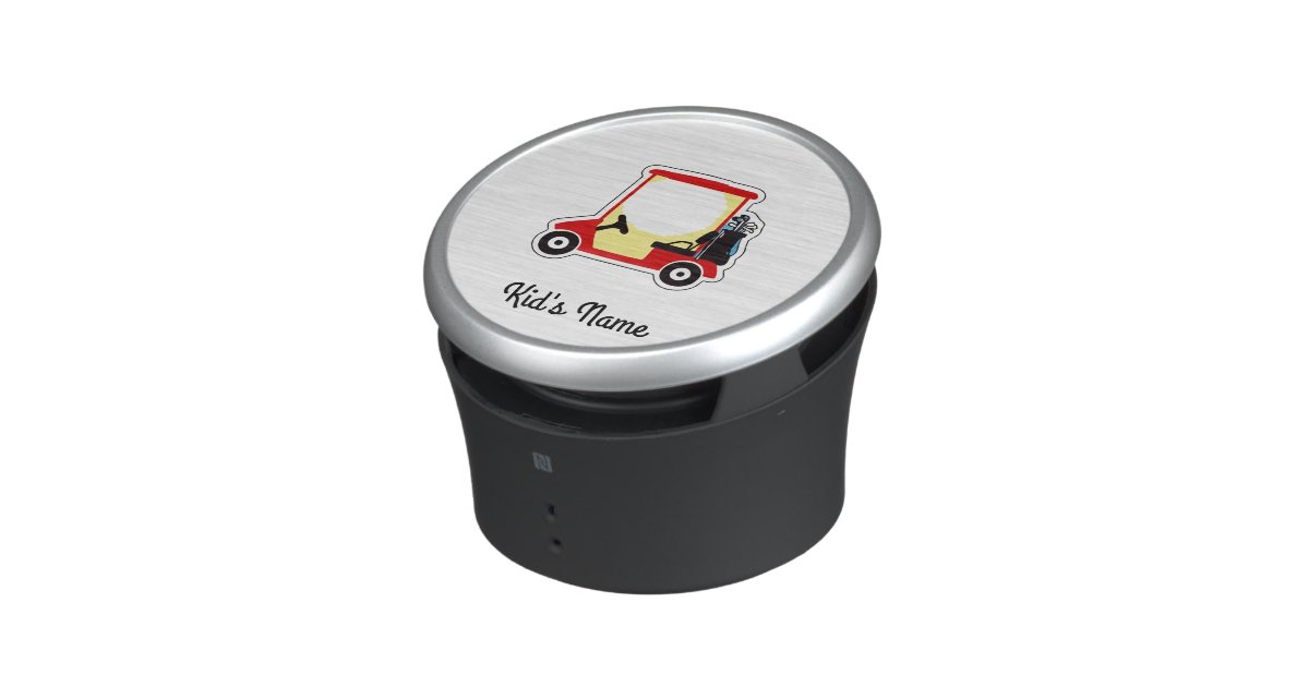 Golf cart bluetooth speaker | Zazzle.com Golf Cart Bluetooth Speaker Box on replacement speakers for motorcycle helmet bluetooth, boss waterproof motorcycle speakers bluetooth, pyle motorcycle speakers bluetooth,