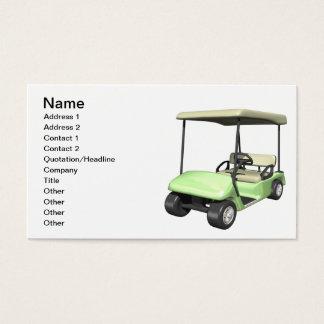 Golf Cart Business Card