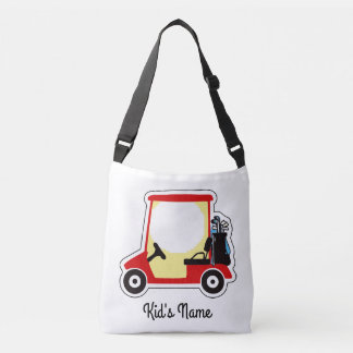 Golf cart crossbody bag