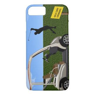 Golf Cart Crossing on Fairway iPhone 7 Case