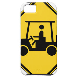 Golf Cart Crossing Sign iPhone 5/5S Cover