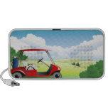 Golf  Cart Doodle Speaker