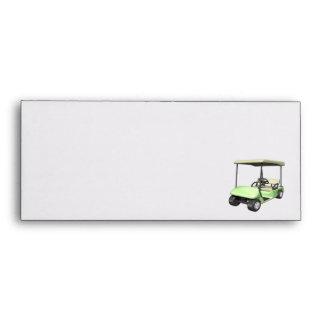 Golf Cart Envelope