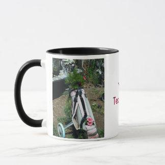 Golf Cart Flower Coffee Mug