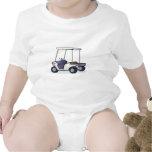 golf cart graphic baby bodysuit