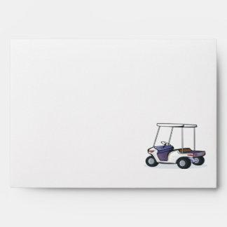 golf cart graphic envelope