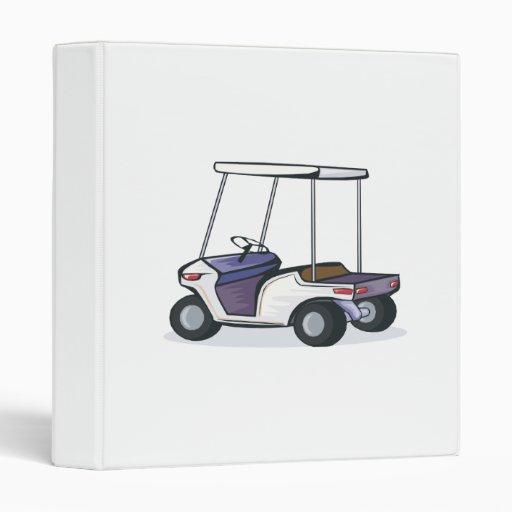 golf cart graphic vinyl binder