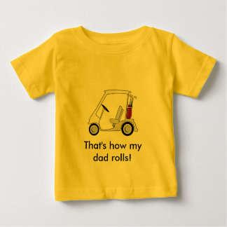 golf_cart infant t-shirt