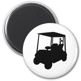 Golf Cart Fridge Magnet