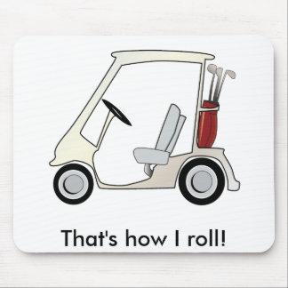 golf_cart mouse pad
