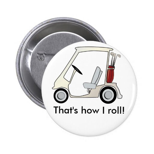 golf_cart pin redondo 5 cm