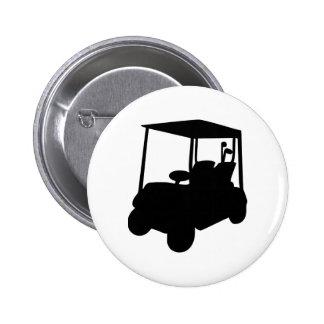 Golf Cart Pinback Button