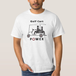 Golf Cart Power Tshirts
