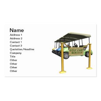 Golf Cart Rentals Business Card