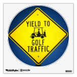 Golf Cart Right of Way Wall Graphics