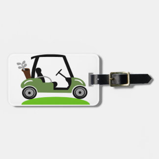 Golf Cart Tag For Luggage