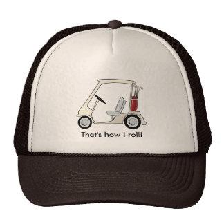 golf_cart trucker hat