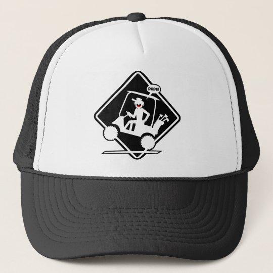 GOLF CART WHEELIES TRUCKER HAT