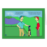 Golf Champ Video Game Birthday Card