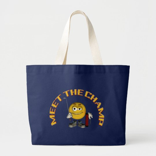 Golf Champion Large Tote Bag